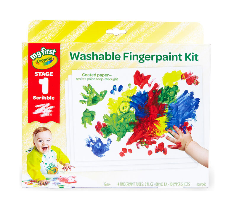 My First Crayola Fingerpaint Kit