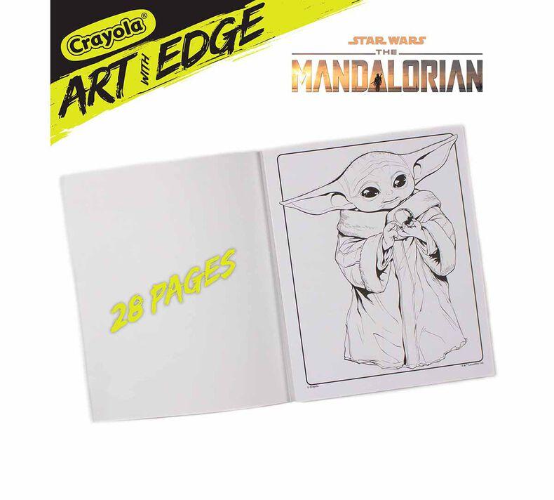 Art with Edge The Mandalorian Coloring Book