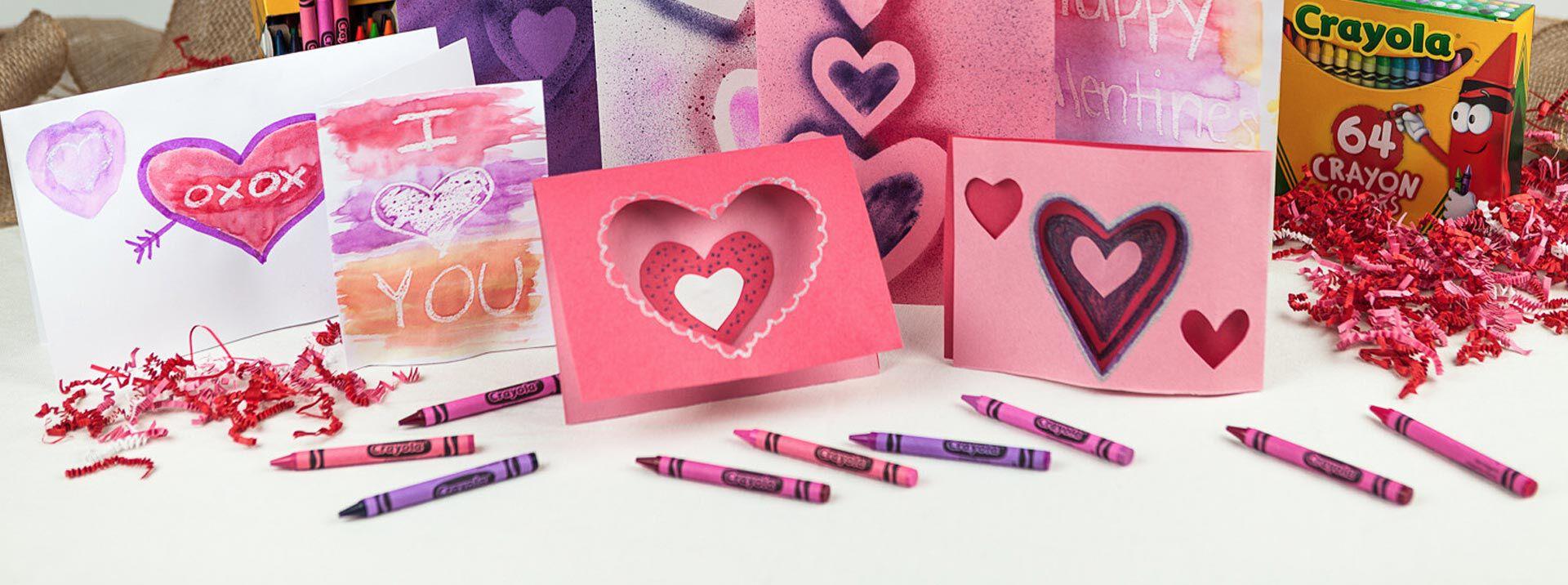 Valentine's Day Card & Craft Supplies