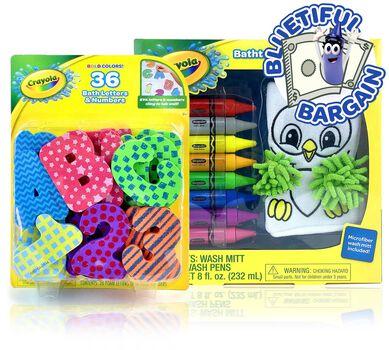 Bath Toys for Kids Value Set
