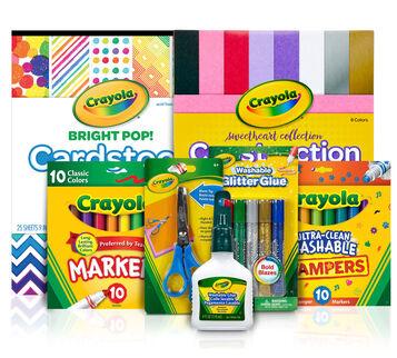 Craft Materials Kit Crayola