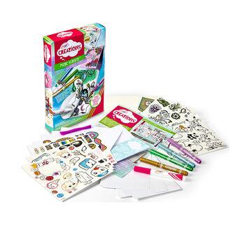 Crayola Creations Magic Transfer Stationery Set