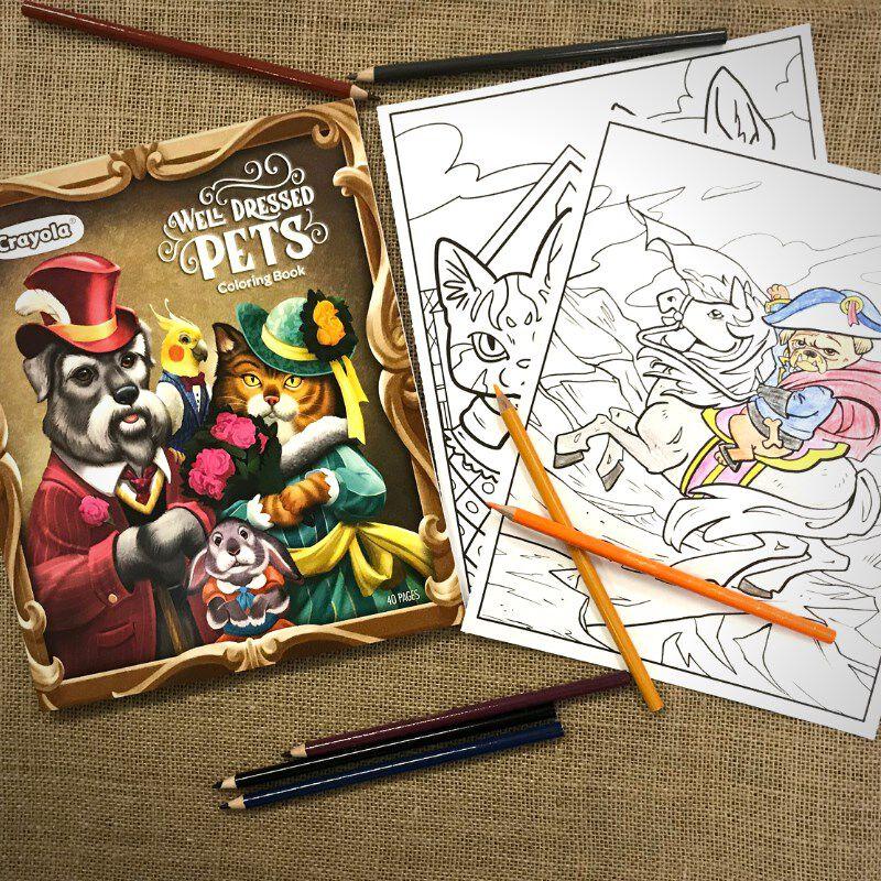 - Pet Coloring Pages, Animal Coloring BookCrayola.com Crayola