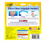 Ultra-Clean Markers, Broad Line, Classic Colors, 10 Count Front View