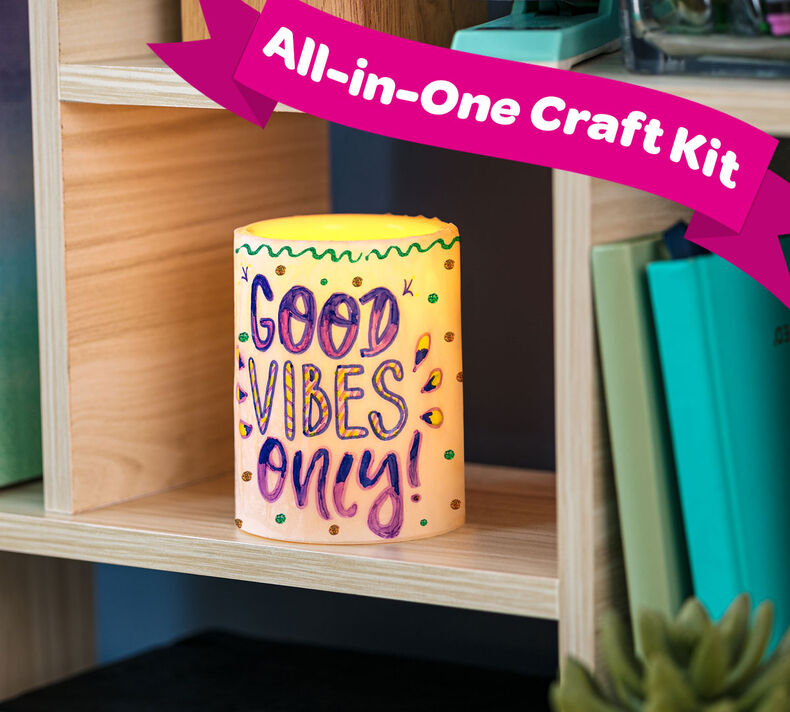 Custom Candle Keepsake Craft Kit