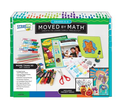 creatED® Family Engagement Kits, Moved by Math: Grades 6-8: Unplugged Coding, 30 Count