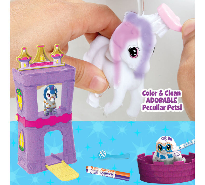 Scribble Scrubbie Peculiar Pets Palace Playset