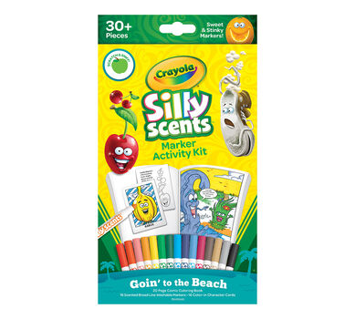 Silly Scents Marker Activity Kit, Goin to the Beach