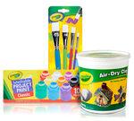 DIY Air Cry Clay Imprints