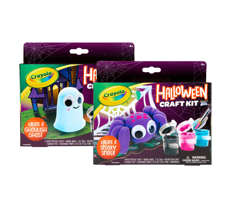 57 0044 0 000 Model Magic Halloween Craft Kits F1