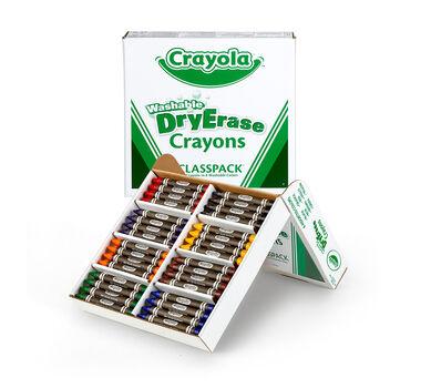 Bulk Dry Erase Washable Crayons, 96 Count
