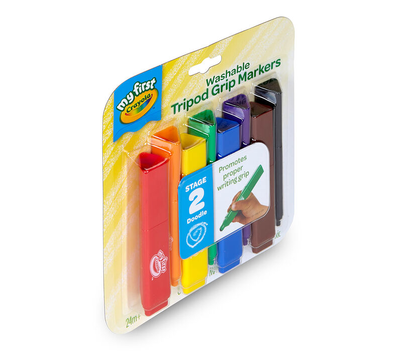 My First Crayola Washable Tripod Grip Markers