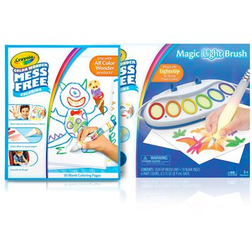 Color Wonder Mess Free Magic Light Brush & Paper Gift Set