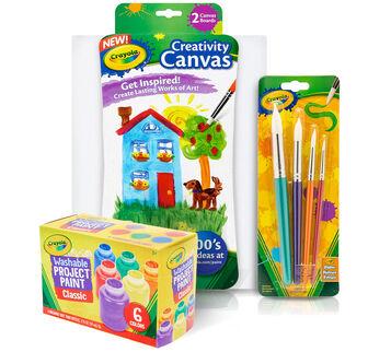 Canvas Paint Set