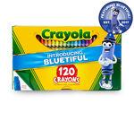 120 count Crayons Bluetiful