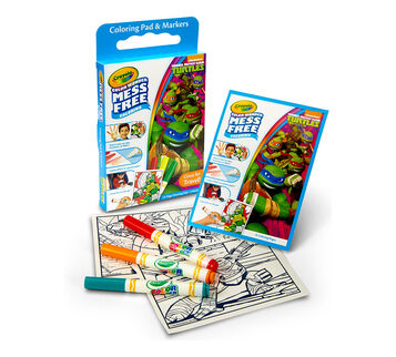 Color Wonder Mess Free Coloring Pad & Markers, Teenage Mutant Ninja Turtles
