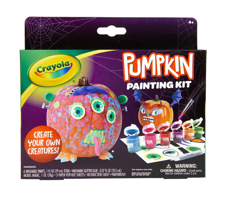 Halloween Pumpkin Painting, Set of 12