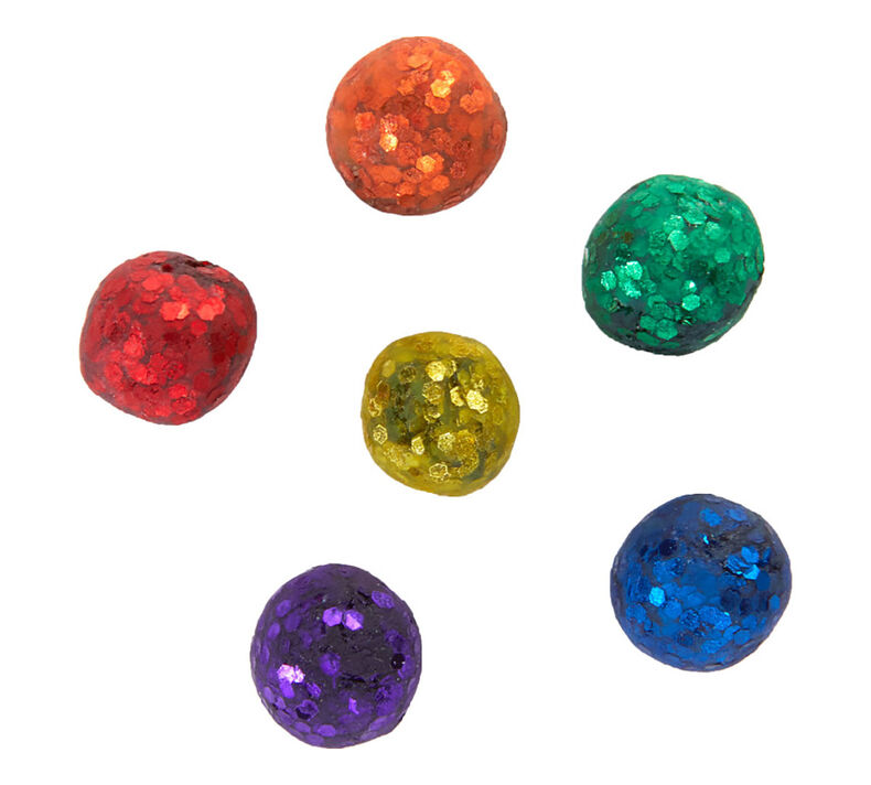Glitter Dots Refills, 42 Count, Classic Colors