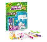 Scribble Scrubbie Safari Animals, Rhino & Hippo, 2 Count