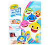 Color Wonder Mess Free Baby Shark Coloring Pages & Markers Front View of Package