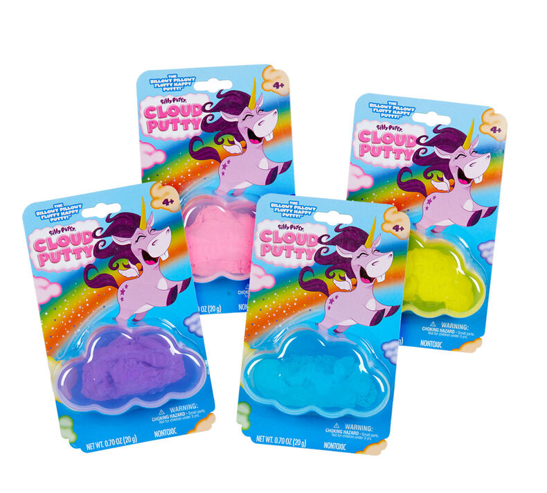 Silly Putty Cloud Putty, 4 Count