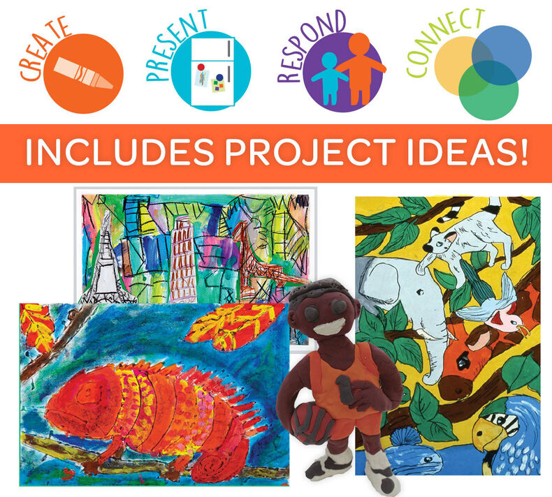 creatED Create-to-Learn Writing Project Kit, Grades 3-5
