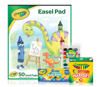 Paint and Paper Easel Kit