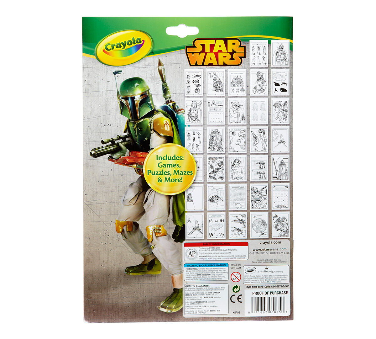 - Crayola Coloring & Activity Pad - Star Wars Crayola