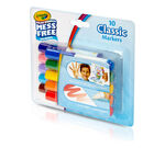 Color Wonder Mess Free Mini Markers, Classic Colors, 10 Count Front View