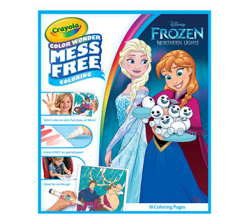 Color Wonder Mess Free Coloring Pad & Markers, Frozen | Crayola