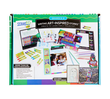 creatED® Family Engagement Kits, Writing Art-Inspired Stories: Grades 6-8: Understanding Self and Others, 30 Count Front View
