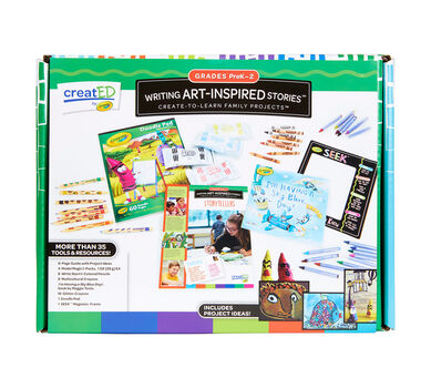 creatED® Family Engagement Kits, Writing Art-Inspired Stories: Grades PK-2: Tell Me a Story, 30 Count
