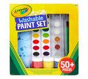 Washable Paint Set, Over 50 Pieces
