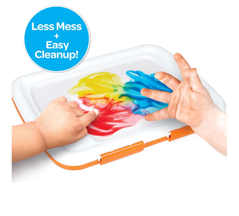 Easy Clean Finger Paint Station
