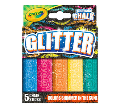 Special Effects Sidewalk Chalk - Glitter