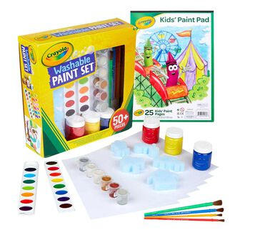 2 in 1 Washable Paint Set for Kids
