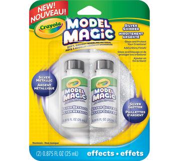 Model Magic Silver Shimmer Glaze