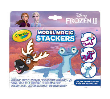 Model Magic Frozen 2 Stackers Craft Kit Sven & Fire Salamander