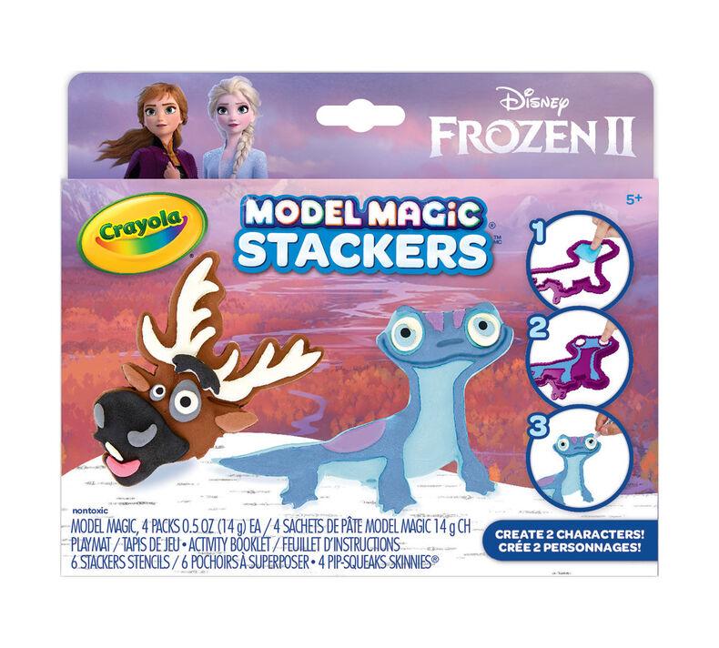 Model Magic Frozen 2 Stackers Craft Kit, Sven & Fire Salamander