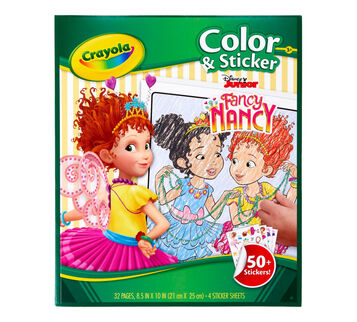 Color & Sticker Book, Fancy Nancy Front View