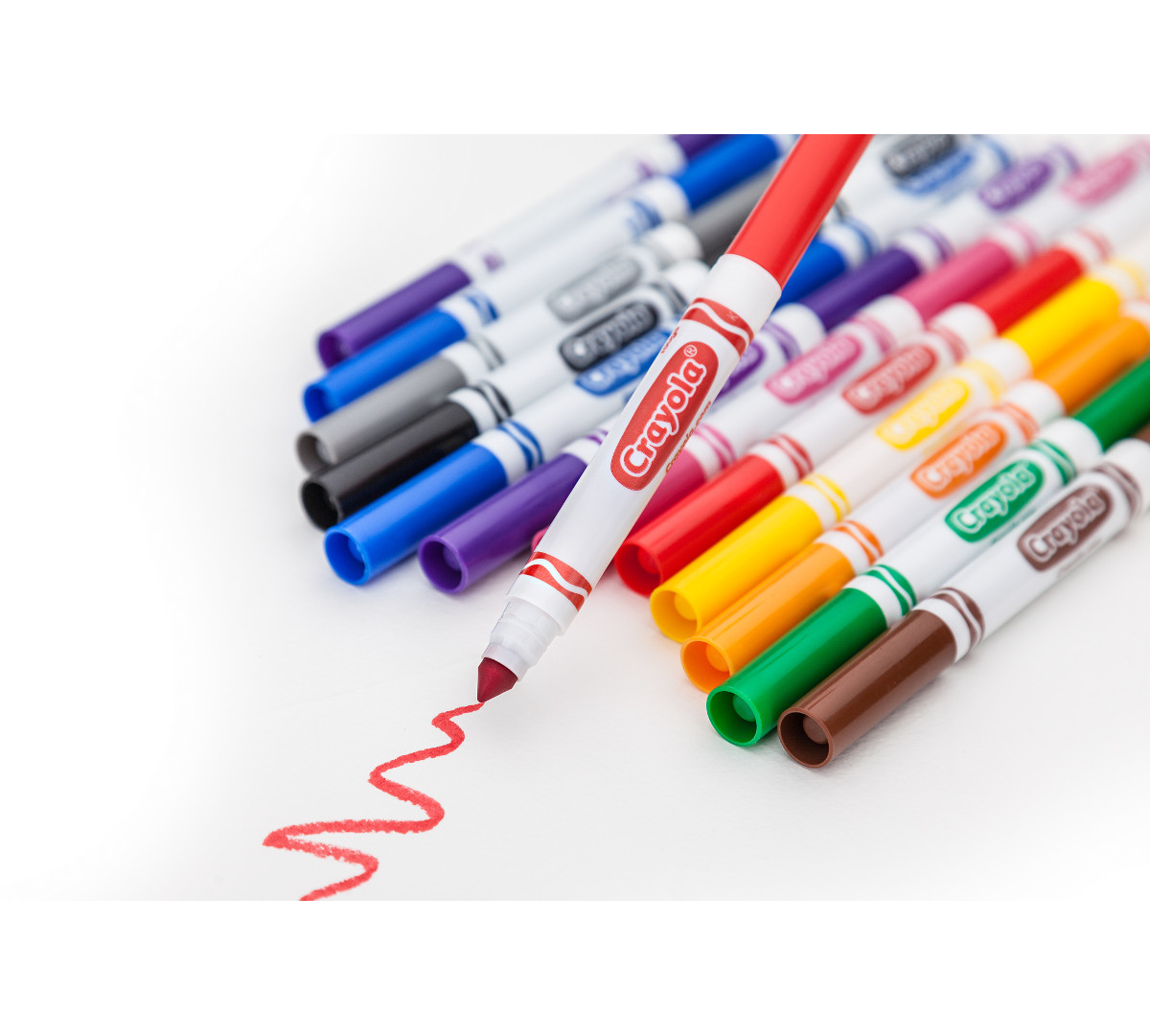 Broad Line Markers, Classic Colors, 10 Count | Crayola.com ...Crayola Markers Images Clipart