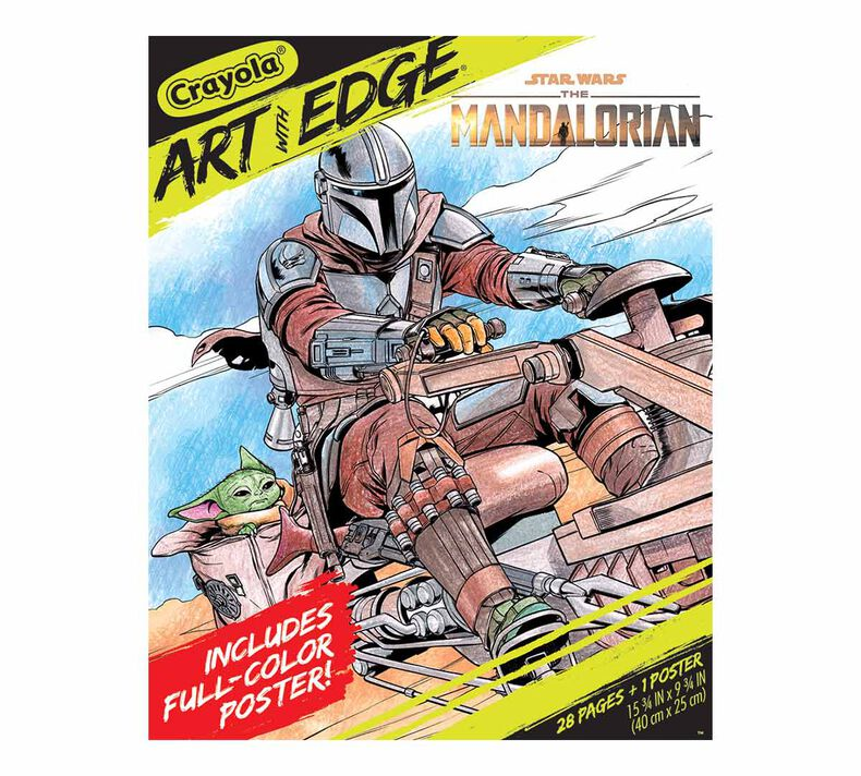 Art with Edge The Mandalorian Coloring Book