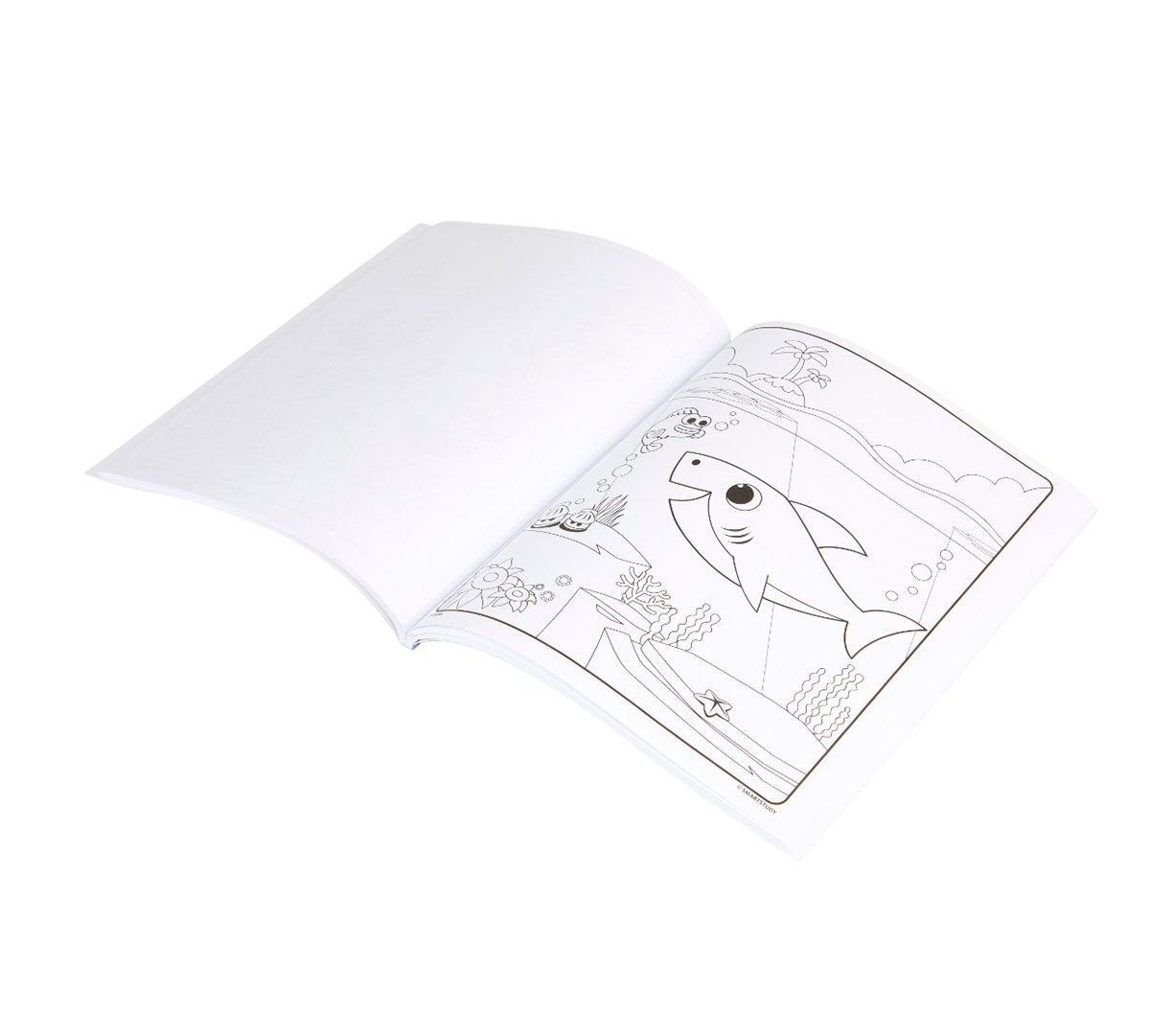 Baby Shark Coloring Book 40 Coloring Pages Crayola Com Crayola