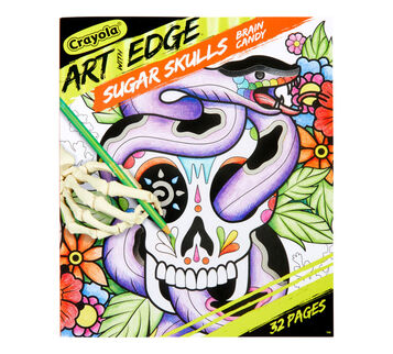 Art With Edge Sugar Skulls Volume 3 Coloring Book Front View