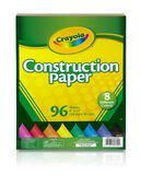 Construction Paper, 96 Count Front View