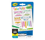 Take Note 2 in 1 highlighter pens 6 count front of pacakge