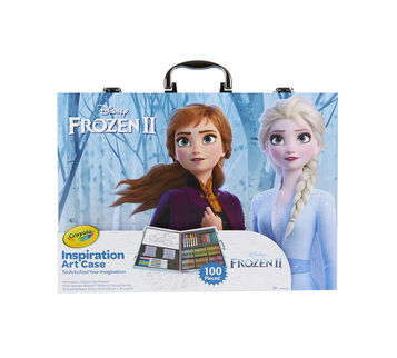 Frozen 2 Inspiration Art Case, Front View