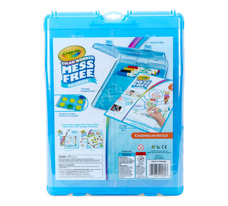 Color Wonder Mess Free Stow & Go Travel Kit