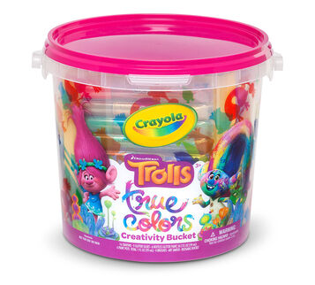 Trolls Creativity Bucket Front