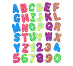 Bath Letters and Numbers 36 count